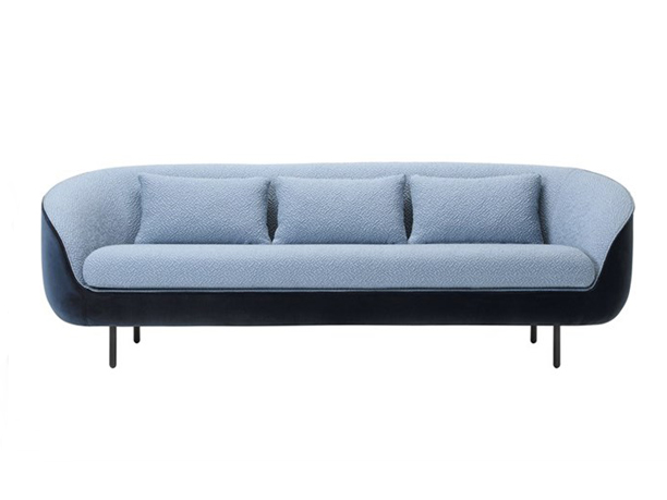 HAIKU Low 3-seater sofa (1643)